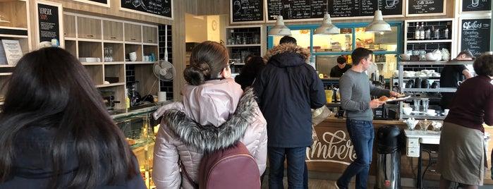Amber's French Bakery & Cafe is one of reggeli,kv,pékség_PEST.