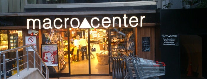 Macro Center is one of Rumeysa 님이 좋아한 장소.