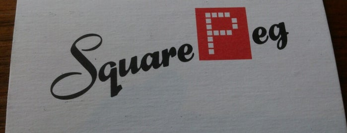 Square Peg is one of Center City Sips 2013.