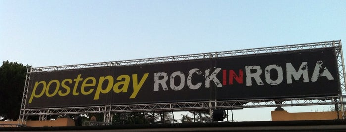 Rock in Roma is one of Future sites.