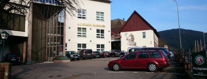 Alpirsbacher Klosterbrauerei is one of Brauerei.