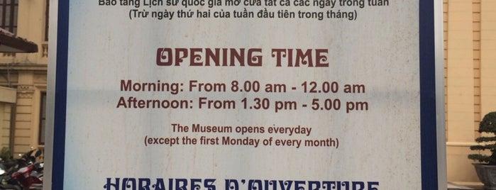 Bảo Tàng Lịch Sử Quốc Gia (Vietnam National Museum of History) is one of Locais curtidos por Takanori.