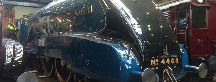 National Railway Museum is one of 75 Geeky Places to Take Your Kids.