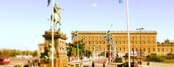 Norrbro is one of STHLM, Sweden.