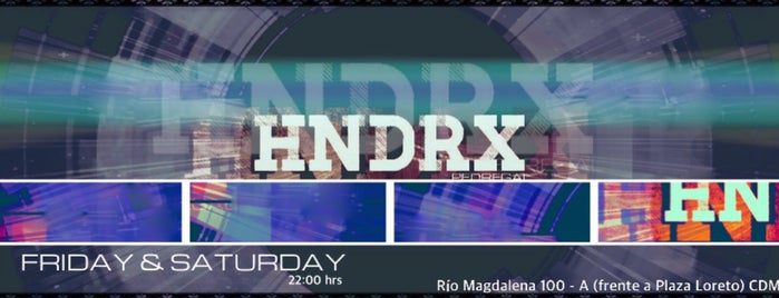 HNDRX Pedregal is one of bares sur.