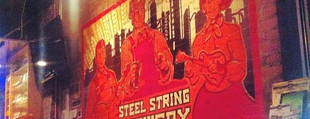 Steel String Brewery is one of Breweries or Bust.