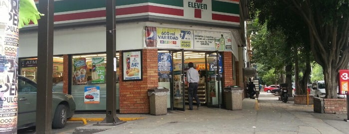 7- Eleven is one of All-time favorites in Mexico.