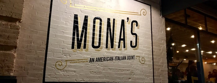 Mona's - An Italian-American Joint is one of Tempat yang Disukai Jonathan.