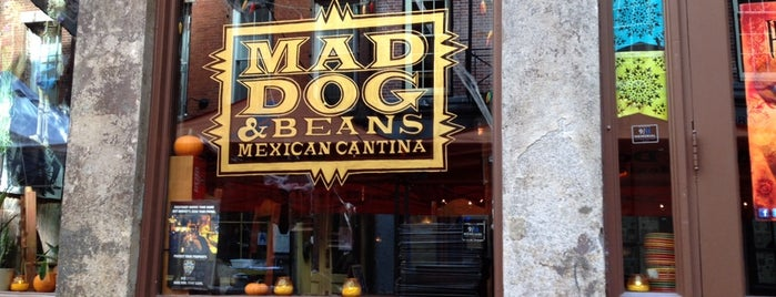 Mad Dog & Beans Mexican Cantina is one of The Financial District List by Urban Compass.