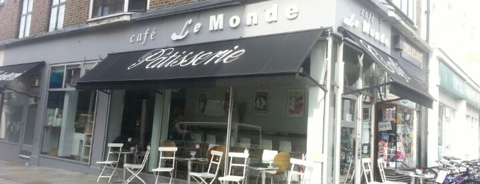 Cafe Le Monde is one of London.