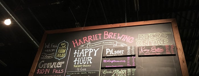 Harriet Brewing is one of Breweries or Bust 2.