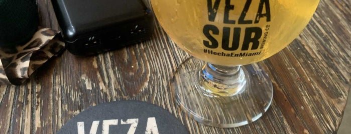 Veza Sur Brewing Co. is one of Miami/South Beach.