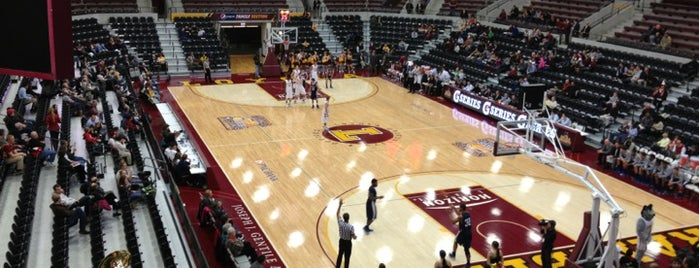 Joseph J. Gentile Arena is one of Basketball Arenas.