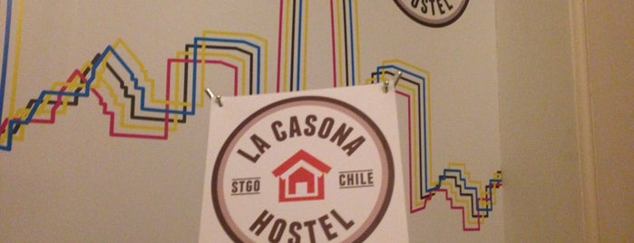 La Casona Hostel is one of Santiago de Chile.