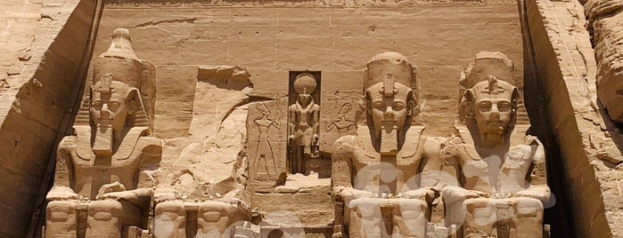Abu Simbel Temples is one of World Ancient Aliens.