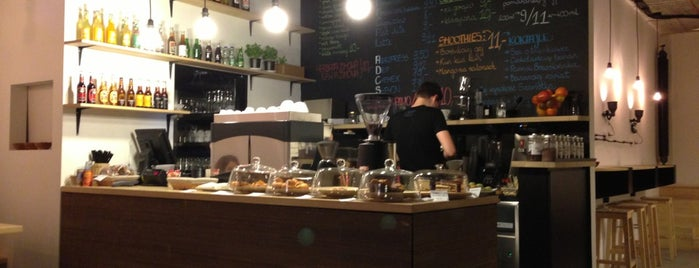Tektura is one of Cracow coffee&beer.