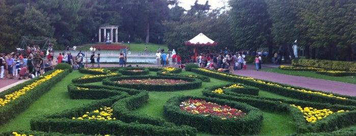 Jardins de Joan Maragall is one of lugares donde me siento bien LA BARCELONA OCULTA.