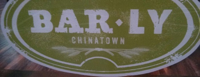 Bar Ly Chinatown is one of Aaron's Philly Birthday Weekend.