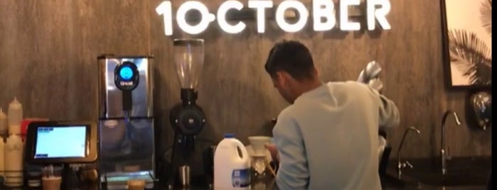 1 October  specialty coffee is one of Lugares guardados de Queen.