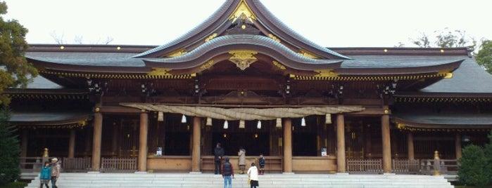 寒川神社 is one of 海老名・綾瀬・座間・厚木.