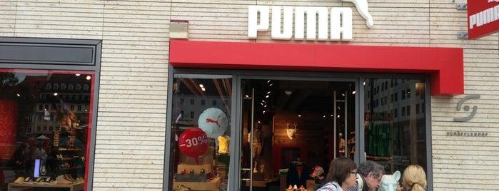 The PUMA Store Munich is one of asma 님이 저장한 장소.