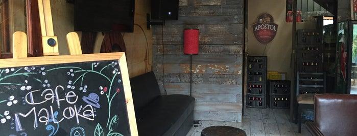 Maloka Hostel & Lounge is one of Tempat yang Disukai Ines.