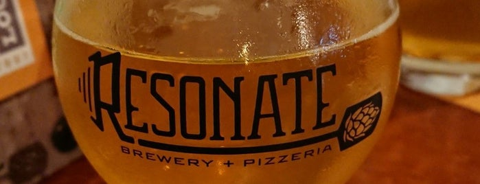 Resonate Brewery & Pizzaria is one of Danielさんのお気に入りスポット.