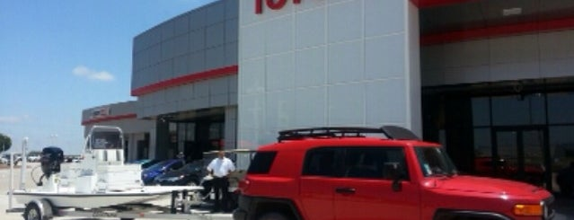 San Marcos Toyota is one of Increase your Austin City iQ.