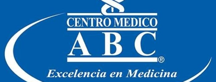 Centro Médico ABC is one of Jesús Ernesto 님이 좋아한 장소.