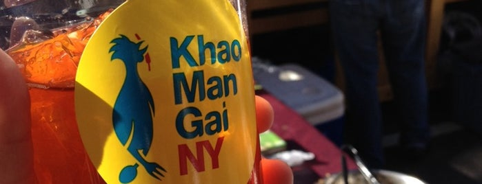 Khao Man Gai NY is one of Restaurant recommendations.