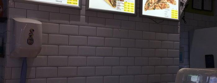 Burrito Café is one of Restaurants.