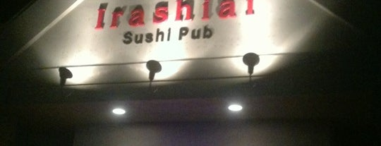 Irashiai Sushi Pub & Japanese Restaurant is one of Posti che sono piaciuti a Casey.