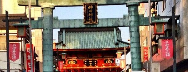 神田明神 鳥居 is one of Posti che sono piaciuti a Nonono.