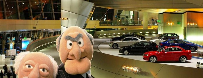 BMW Welt is one of Stadler and Waldorf in Munich - things to do.