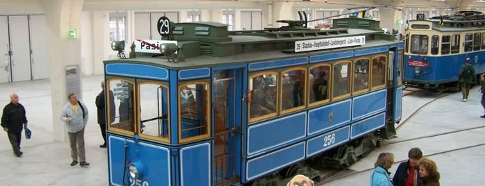 MVG Museum is one of Stadler and Waldorf in Munich - things to do.