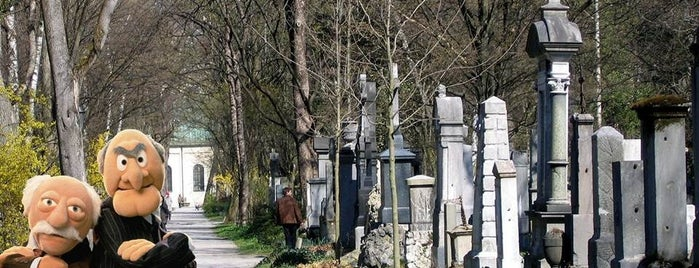 Alter Südfriedhof is one of Stadler and Waldorf in Munich - things to do.