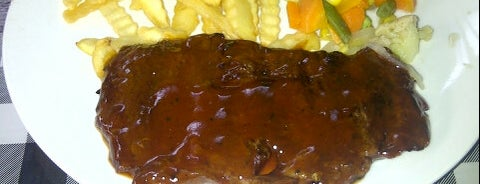 Obonk Steak & Ribs is one of Kuliner Resto/Cafe ♥.