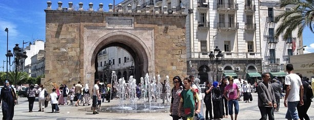 Bab Bhar - Porte de France is one of Locais curtidos por Aptraveler.
