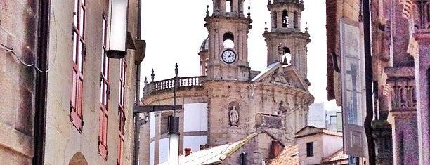 Pontevedra is one of Capitales de provincia.
