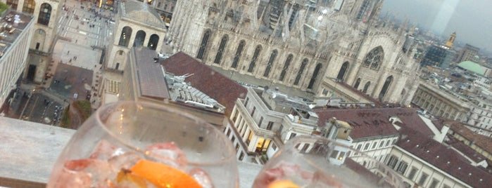 Terrazza Martini is one of Milano da bere.