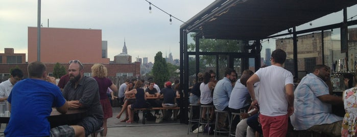 Berry Park is one of The Best Places to Drink Outdoors in New York.