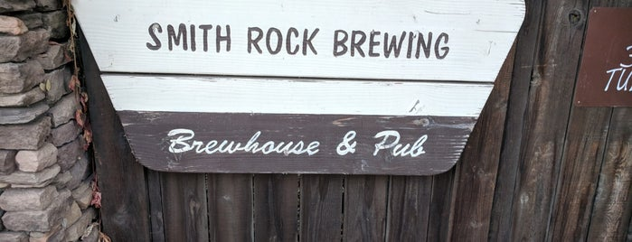 Smith Rock Brewing is one of Oregon Brewpubs.