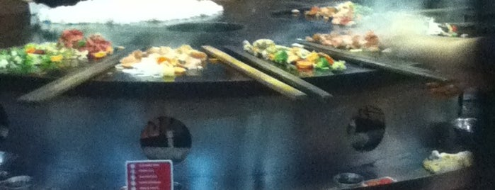 Genghis Grill is one of Lunch.