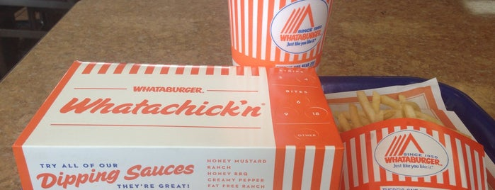 Whataburger is one of Alexander's Liked Places.