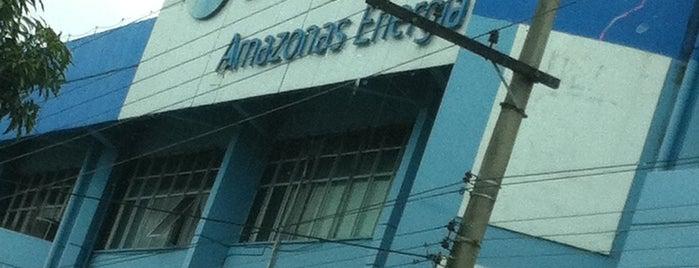 PRJ - Eletrobras Amazonas Distribuidora de Energia S/A is one of Manaus.
