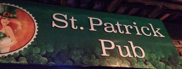 St. Patrick Pub is one of Lugares guardados de Kennedy.