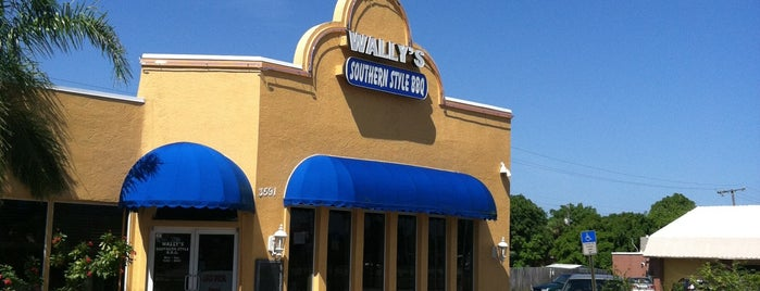 Wally's Southern Style BBQ is one of Sergey's Saved Places.