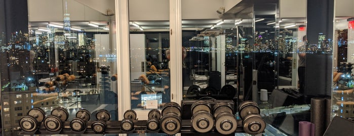 Gym at The Standard is one of NYC.