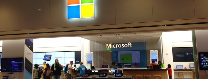 Microsoft Store is one of liver's best of SFO.