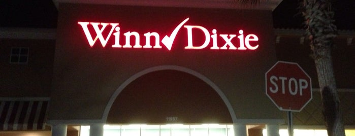 Winn-Dixie is one of Florida places.